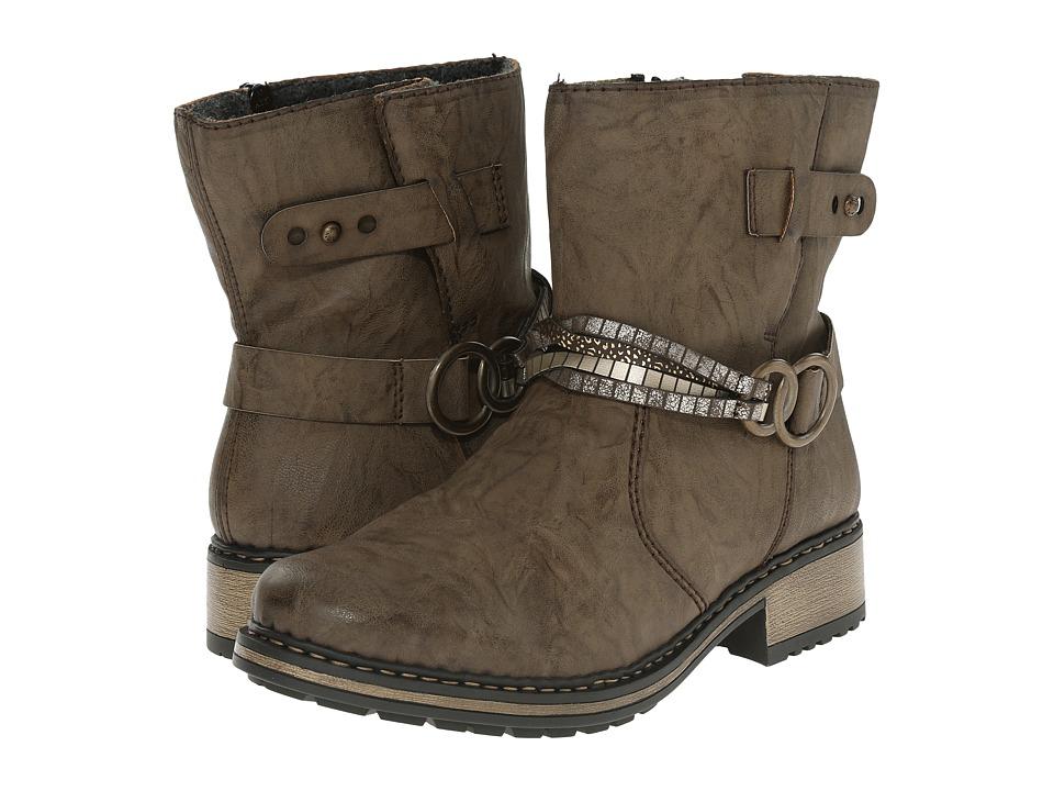 Rieker - Z6858 Philippa 58 (Mud/Oro/Moro-Gold/Altgold) Women's Boots