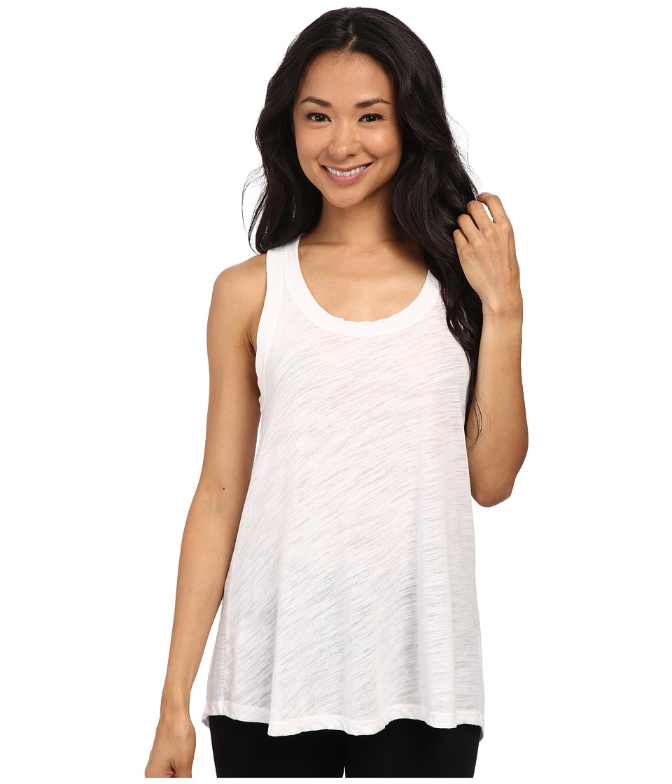 LNA - Channing Tank Top (White) Women's Sleeveless