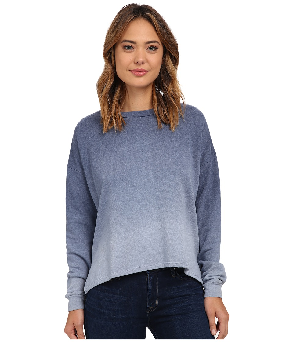 LNA - Ombre Backtail Sweatshirt (Blue Ombre Dye) Women