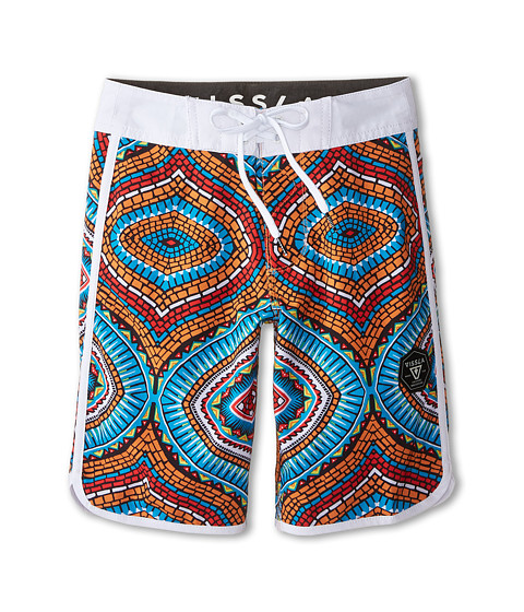VISSLA Kids - Namibia Coast Boardshorts (Big Kids) (Royal) Boy