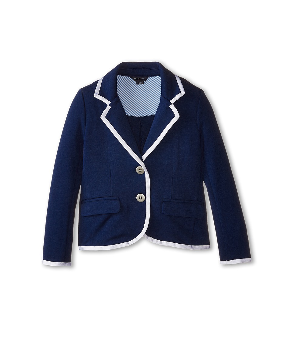 Tommy Hilfiger Kids - Tommy Classic Blazer (Little Kids) (Medium Navy) Girl's Jacket