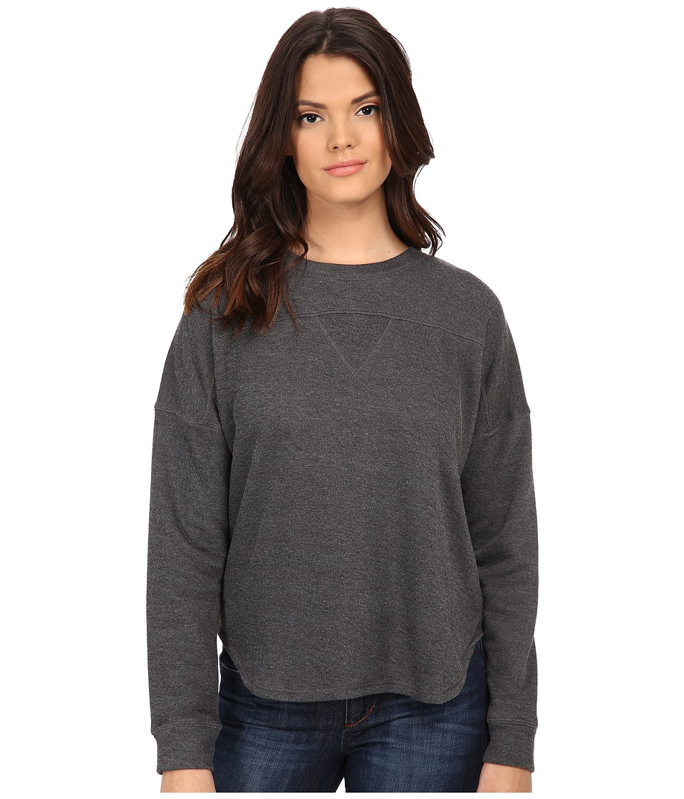 LNA - Gym Class Sweatshirt (Charcoal) Women's Sweatshirt