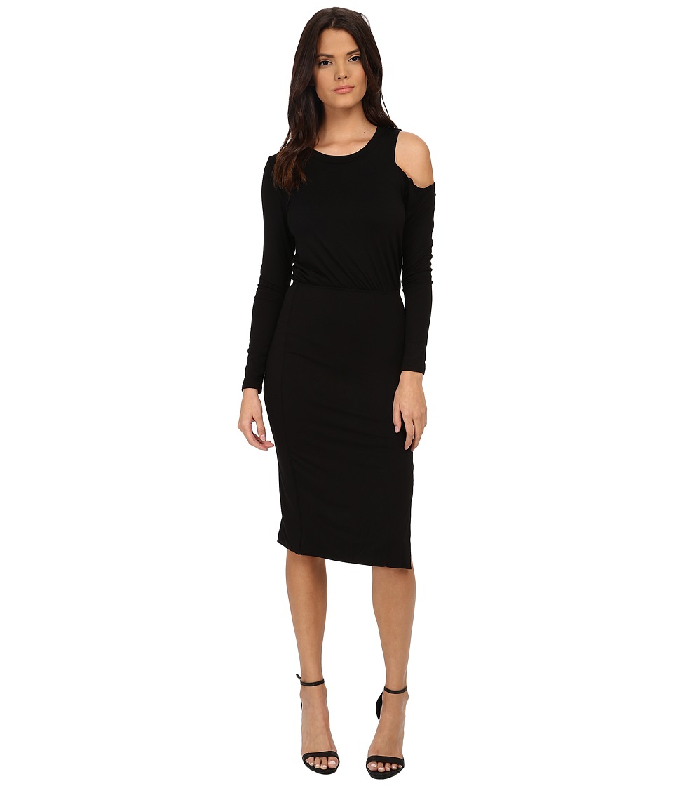 LNA Slasher Dress (Black) Women