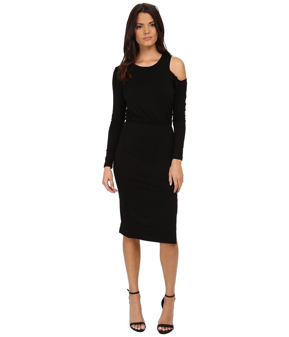 LNA - Slasher Dress (Black) Women's Dress