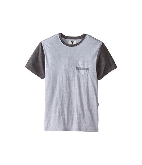 VISSLA Kids - Seven Sets Pocket Tee (Big Kids) (Vintage White) Boy's T Shirt