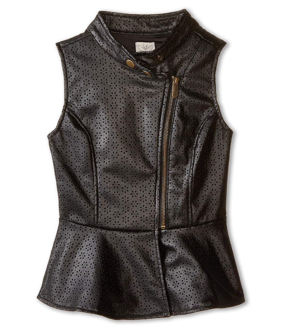 Ella Moss Girl - Peyton Vest (Big Kids) (Black) Girl's Vest