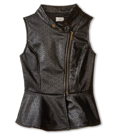 Ella Moss Girl - Peyton Vest (Big Kids) (Black) Girl