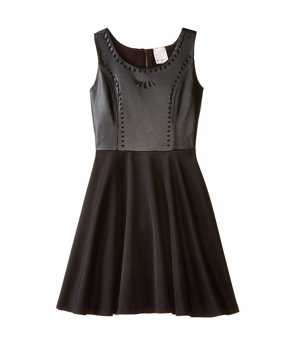 Ella Moss Girl - Jocelyn Dress (Big Kids) (Black) Girl's Dress