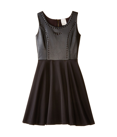 Ella Moss Girl - Jocelyn Dress (Big Kids) (Black) Girl's Dress