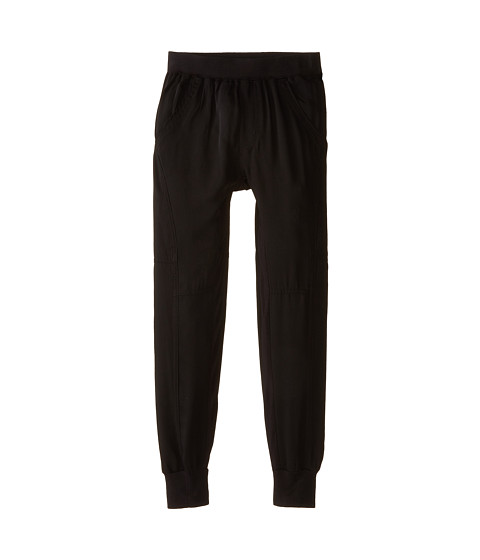 Ella Moss Girl - High Waist Jogger (Big Kids) (Black) Girl's Casual Pants