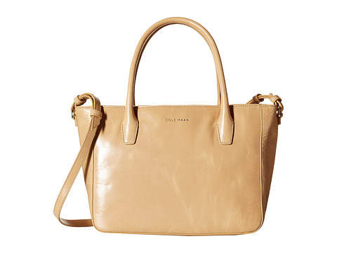Cole Haan - Isabella Small Tote (Tan) Tote Handbags