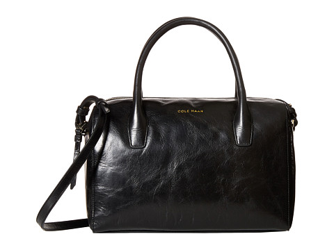 Cole Haan - Isabella Satchel (Black) Satchel Handbags