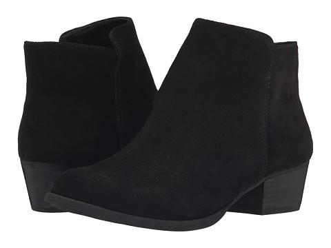 Jessica Simpson - Delaine (Black Split Suede) Women's Boots