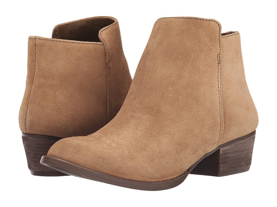 Jessica Simpson - Delaine (Dakota Tan Split Suede) Women's Boots