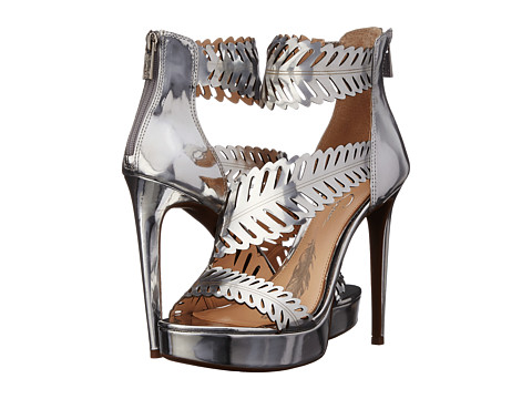 Jessica Simpson - Azure (Silver Liquid Metallic) High Heels