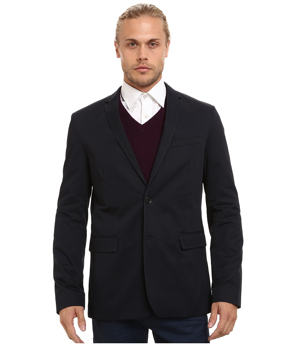 Ben Sherman - Gabardine Blazer MF11769 (Staples Navy) Men's Jacket