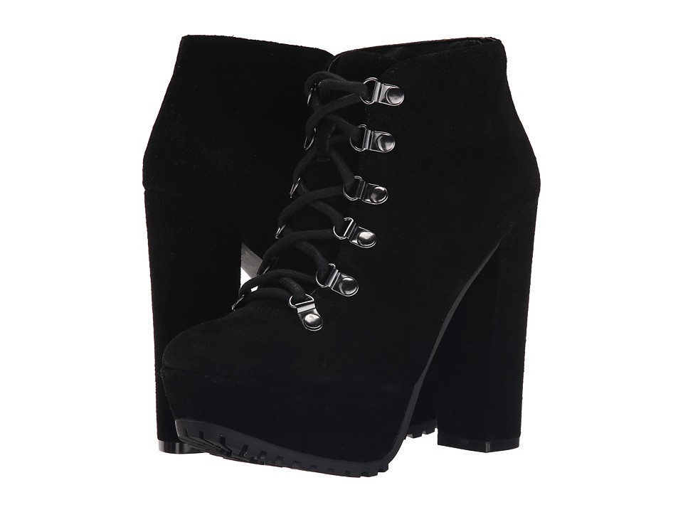 Jessica Simpson - Gannan (Black Split Suede) High Heels