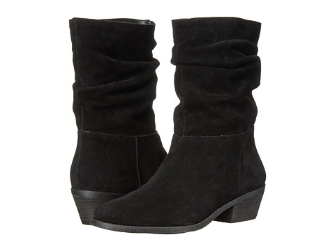 Jessica Simpson - Gilford (Black Split Suede) Women's Boots