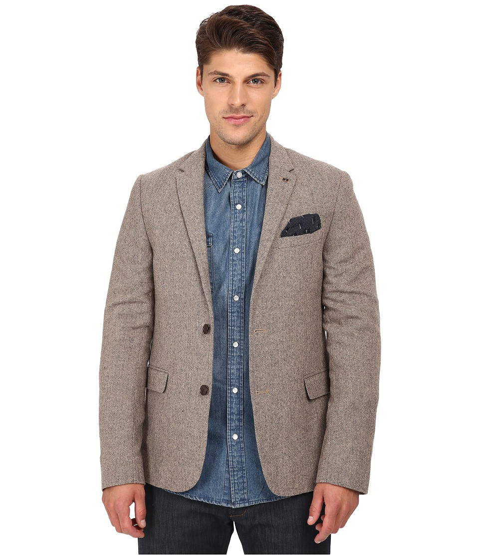 Ben Sherman - Herrington Blazer MF11766 (Desert Sand) Men's Jacket