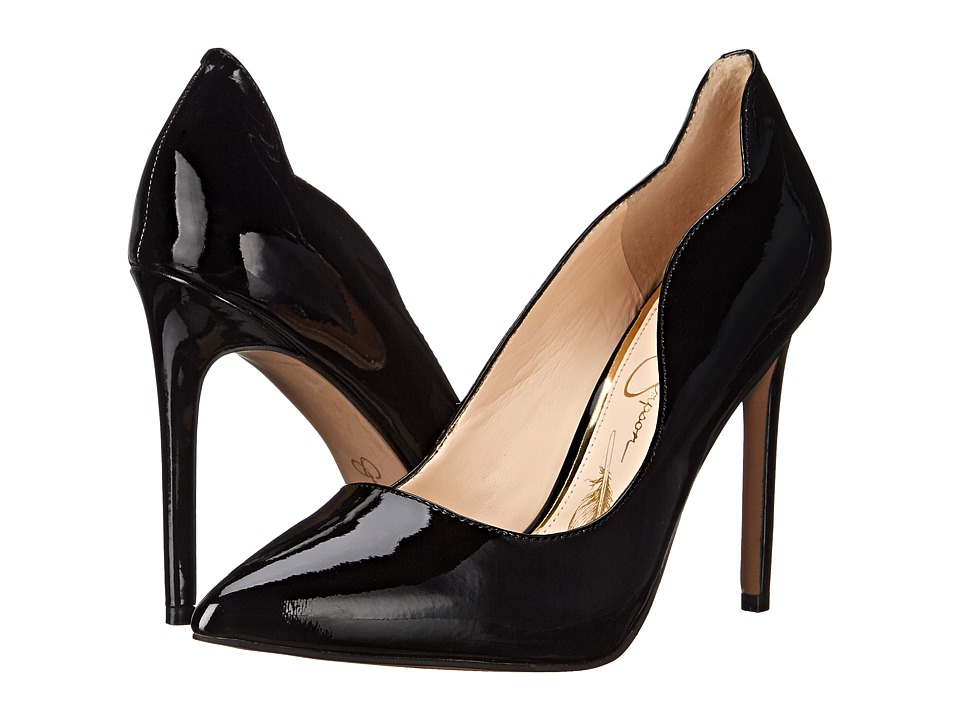 Jessica Simpson - Pixy (Black Patent) High Heels