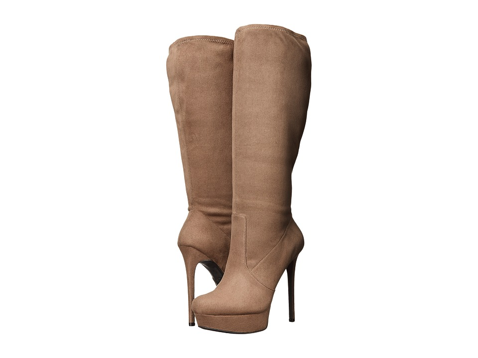 Jessica Simpson Serelli (Slater Taupe Stretch Microsuede) Women