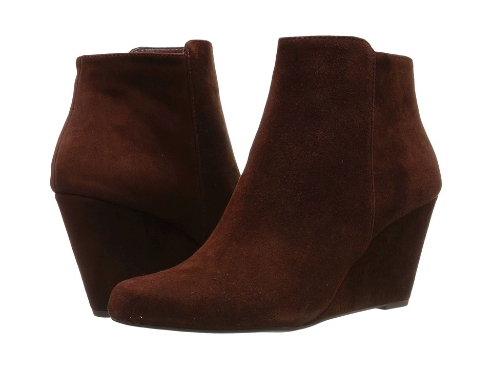 Jessica Simpson - Remixx (Hot Chocolate Lux Kid Suede) Women's Wedge Shoes