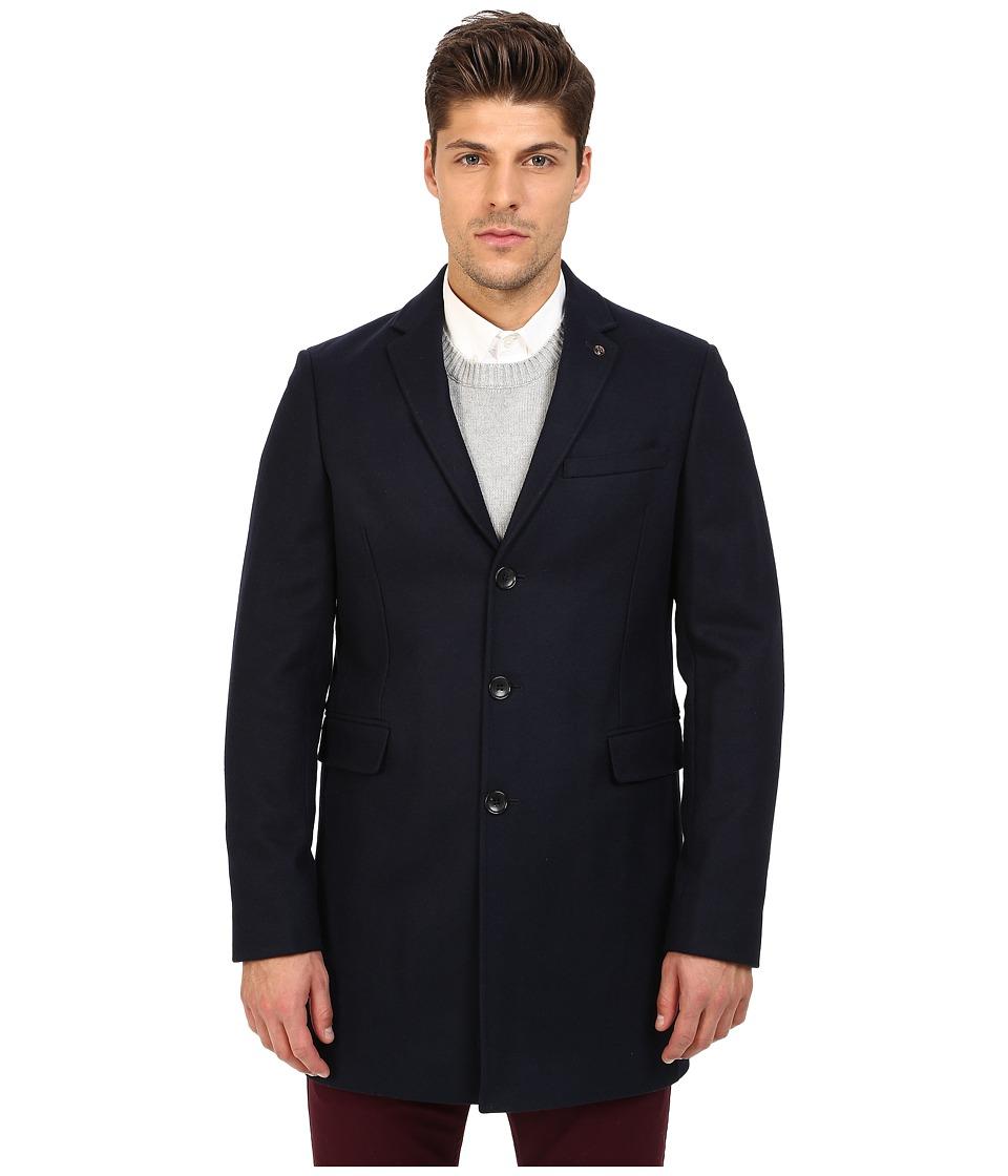 Ben Sherman - Covert Coat MF11786 (Navy Blazer) Men