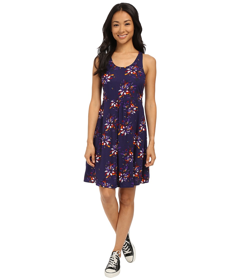 Roxy - Sea Spell Dress (Eclipse Floral Slopes) Women's Dress
