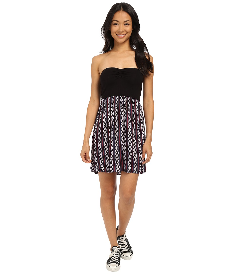 Roxy - Sleep to Dream Dress (True Black Diamond Line) Women's Dress