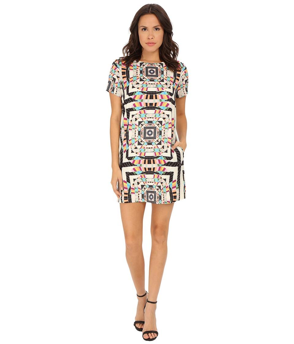 Mara Hoffman - Tee Shift Dress (Tesselate Cream) Women's Dress