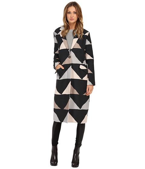 Mara Hoffman - Car Coat (Triad Stone) Women's Coat