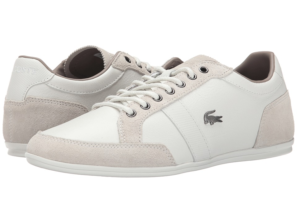 Lacoste - Alisos 23 (Off White) Men's Shoes
