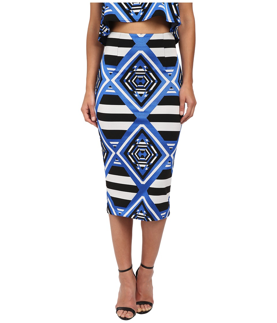 Mara Hoffman - Jacquard Pencil Skirt (Keeper Blue) Women's Skirt
