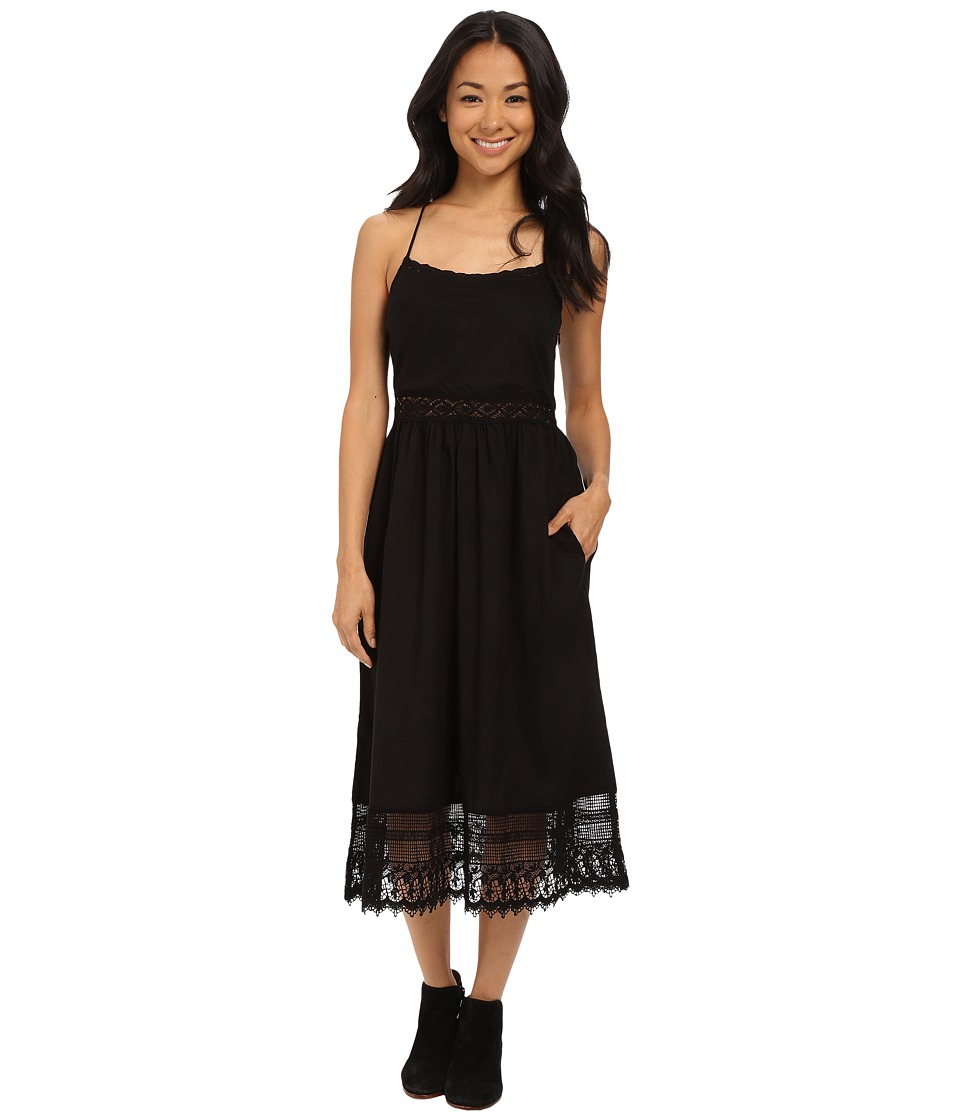 Roxy - Northern Skies Midi Dress (True Black) Women's Dress