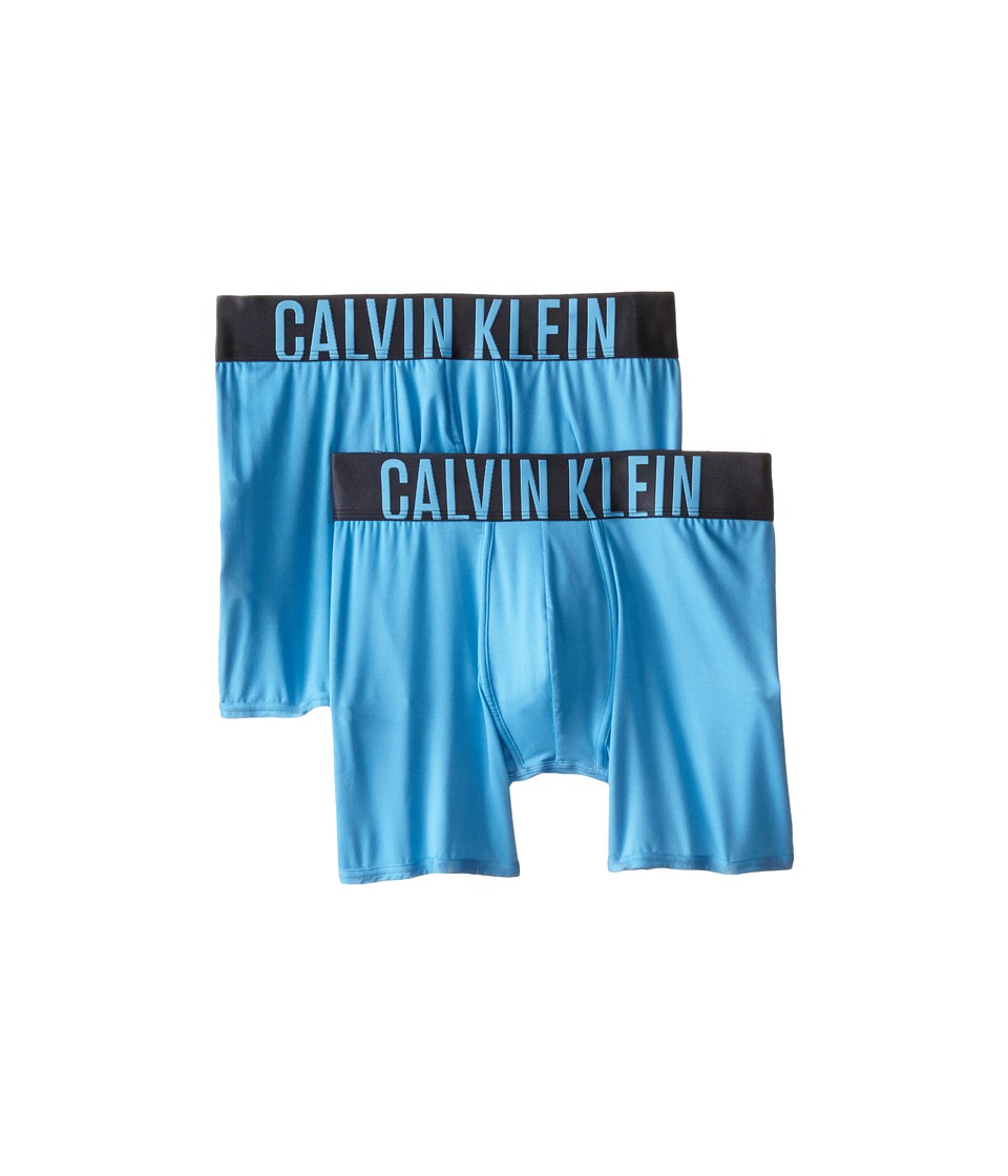 Calvin Klein Underwear - Power Micro Boxer Brief 2-Pack 10482P (Island Blue) Men