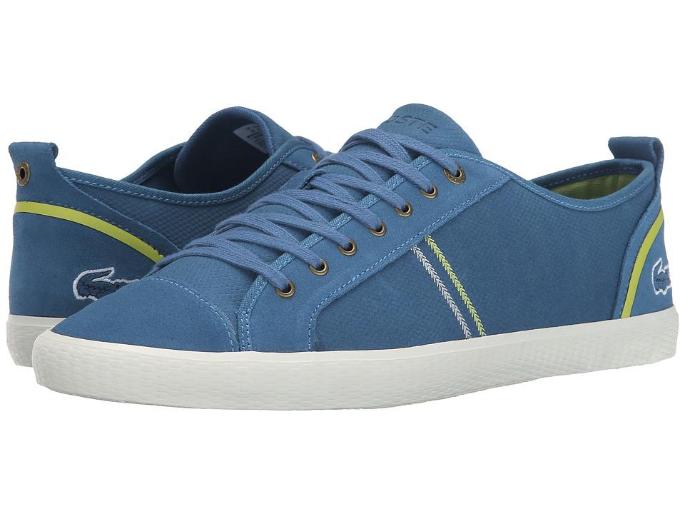 Lacoste - Bruckner 5 (Blue) Men's Lace up casual Shoes