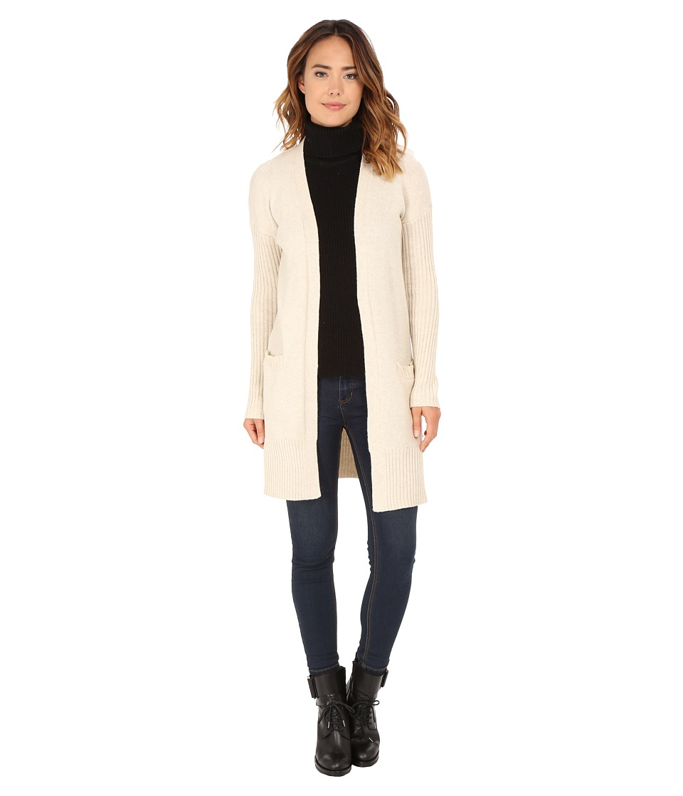 Roxy - Early Riser Solid Cardigan (Metro Heather) Women