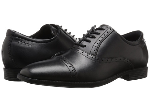 ECCO - Edinburgh (Black) Men's Shoes