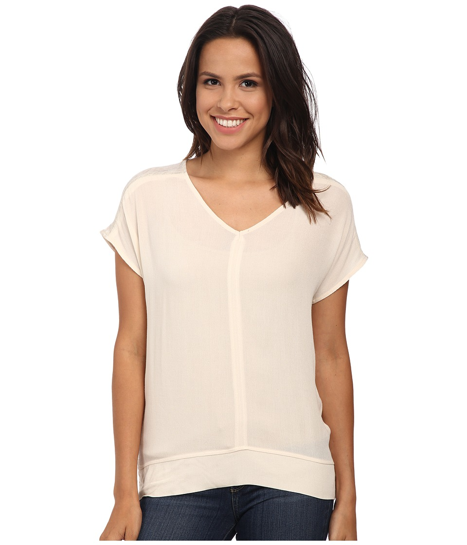 Bobeau - Mixed T-Shirt (Natural) Women