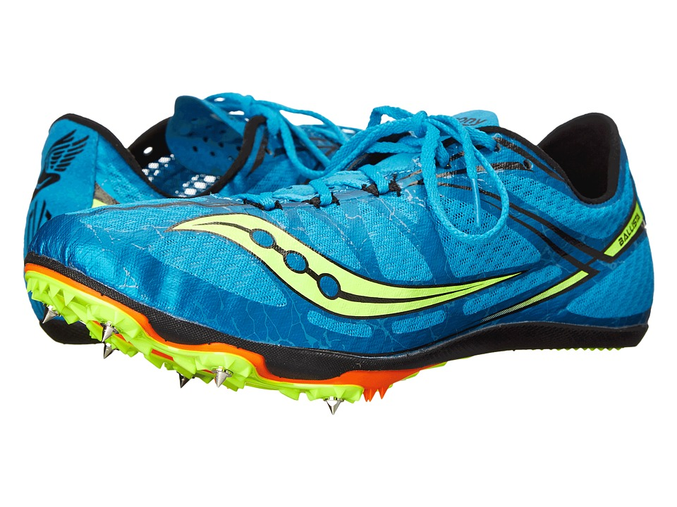 Saucony - Ballista (Blue/Citron) Men's Running Shoes