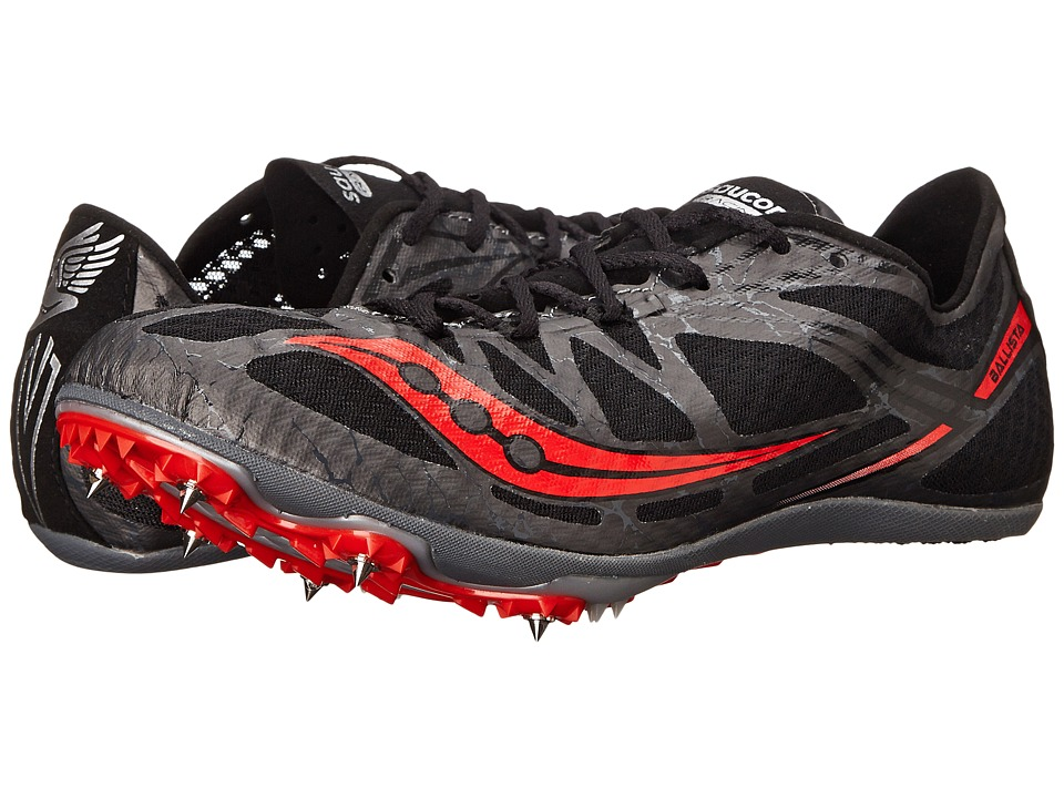 Saucony - Ballista (Black/Red) Men's Running Shoes
