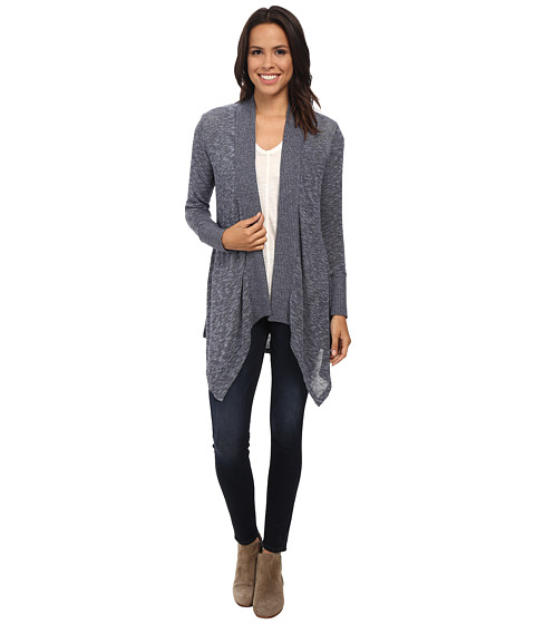 Bobeau - Long Cardigan (Indigo) Women's Sweater