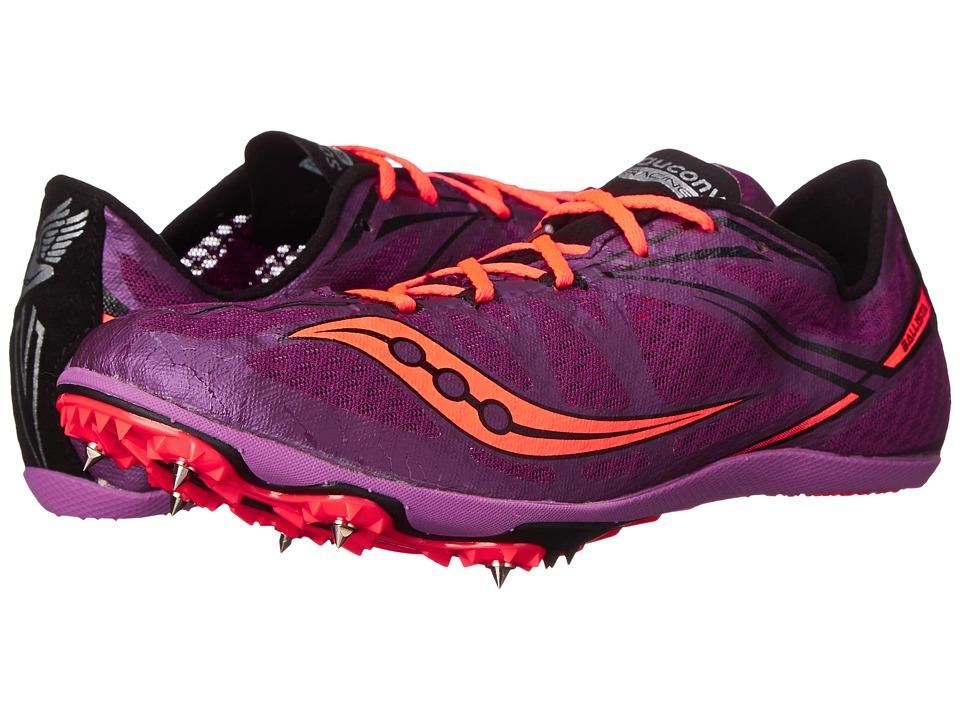 Saucony - Ballista (Purple/Vizicoral) Women's Running Shoes