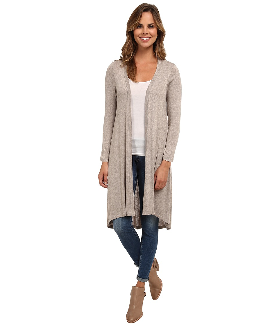 Bobeau - Knit Duster (Oatmeal) Women's Sweater
