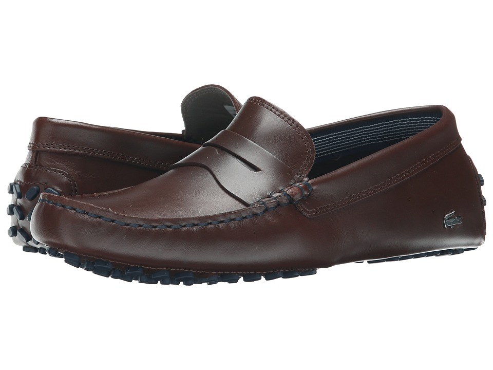 Lacoste - Concours 19 (Dark Brown) Men's Shoes