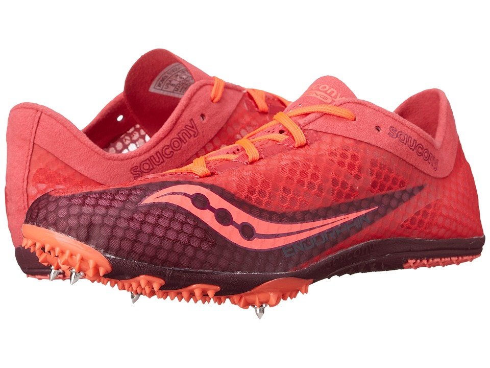 Saucony - Endorphin (Berry/Coral) Women's Running Shoes