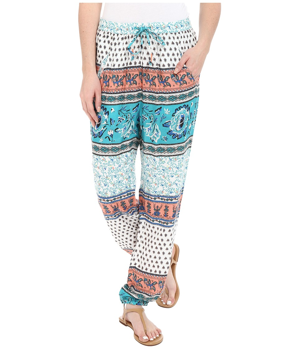 Roxy - Sunday Noon Pant (Sea Spray Tiered Paisley) Women's Casual Pants