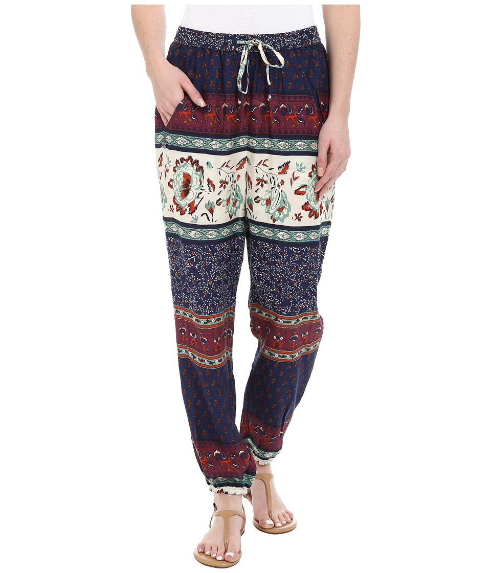 Roxy - Sunday Noon Pant (Tiered Paisley Eclipse) Women's Casual Pants