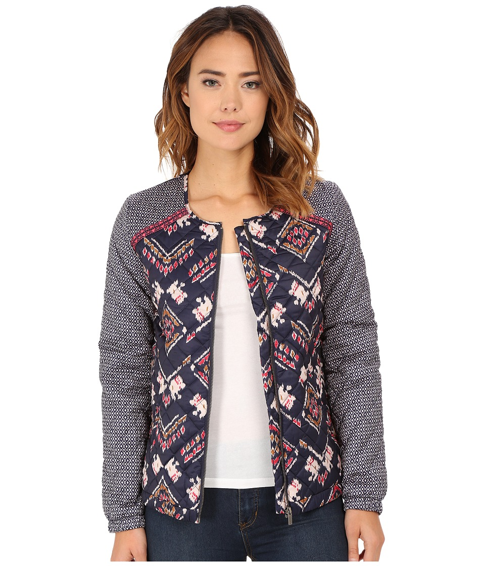 Roxy - Coastal Desert Quilted Jacket (Boho Ikat Paisley Combo) Women's Coat