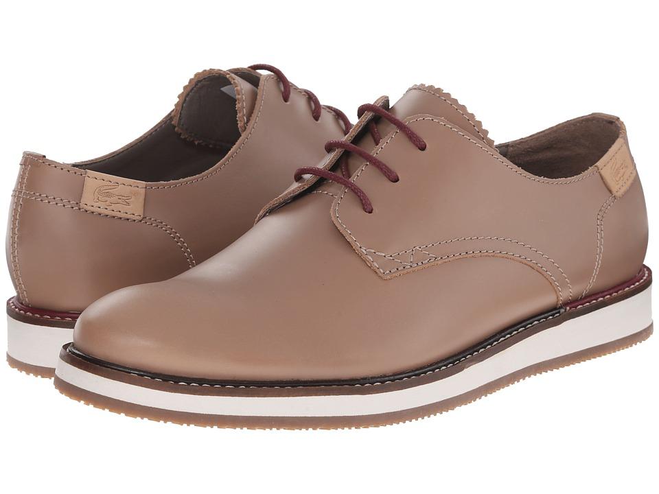 Lacoste - Millard Lace 2 (Light Brown) Men